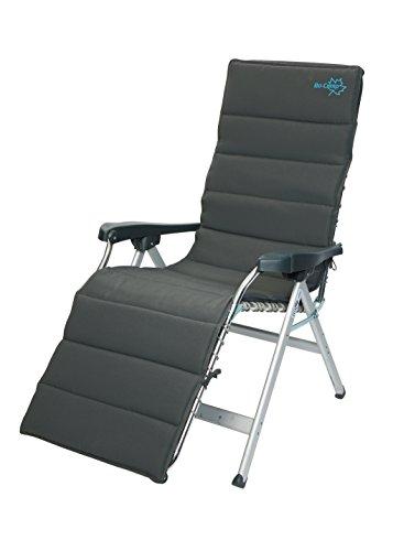Bo-Camp universele overtrek voor relaxstoel, bekleed, grijs