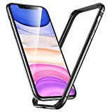 ESR Bumper Case for iPhone 11/iPhone XR Metal Frame Armor with Soft Inner Bumper [Zero Signal...