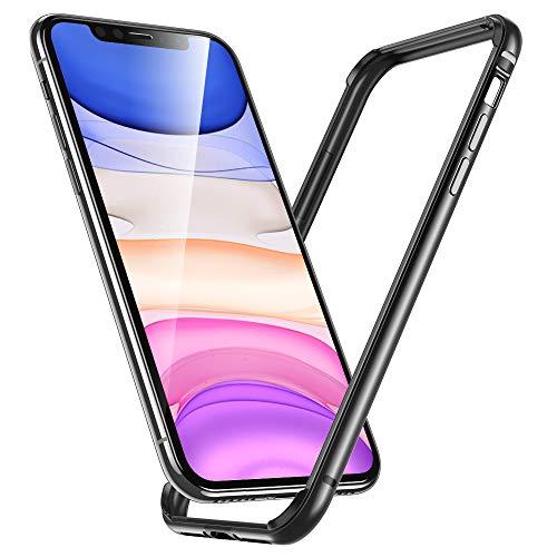 ESR Funda para iPhone XR, Bumper Aluminio iPhone XR con Suave TPU Interno [No Afecta Señales] [Protección de Borde Elevado] Bumper Frame para Apple iPhone XR DE 6.1
