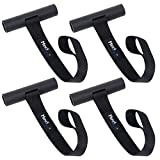Mind and Action Kayak Tie Down Straps,Quick Hood Loops Trunk Anchor,Canoe Transport Accessories Secure Vehicle Lashing Point (4 Pack)