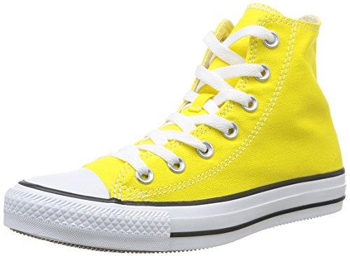 Converse Sneaker All Star Hi Canvas, Sneakers Unisex Adulto, Giallo (Citrus), 42.5 EU