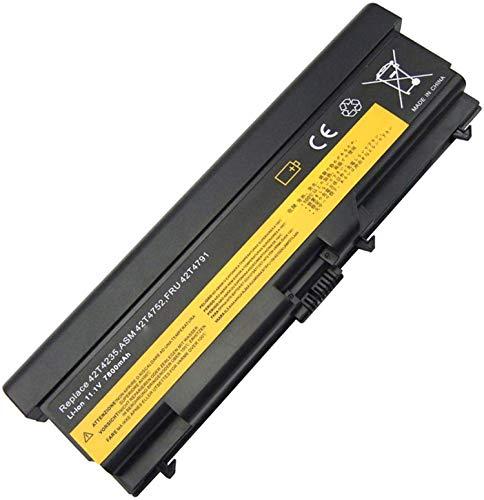 onlyguo 11.1V 7800MAH T410 42T4235 Batería de Repuesto para Lenovo ThinkPad T410 T420 T510 T520 SL510 E40 E50 0578 E420 E525 L410 L412 L420 L421 Sl410 Sl510 W510 W520 42T4751