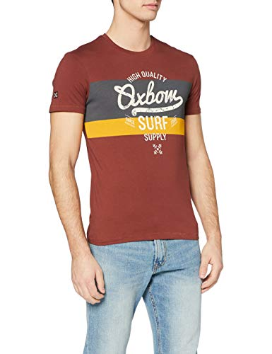 OxbOw M1TRIAM T-Shirt Homme, Terra, FR (Taille Fabricant : 4XL)