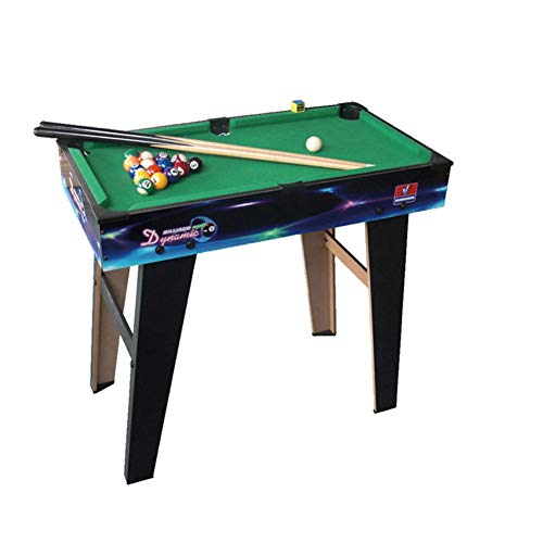 Save %23 Now! TriGold Wooden Pool Table Accessories Kit for Kids,Mini Billiard Table with 2 Cues and...