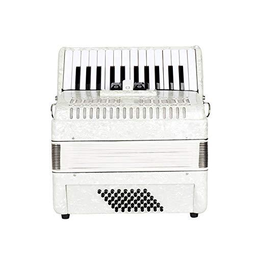 Acordeón De Piano, 26 Teclas 48 Bajos, Fácil De Tocar, Mini Instrumento Musical para La Enseñanza De La Primera Infancia, Buen Regalo para Niños, Estudiantes Y Principiantes