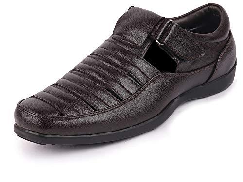 BATA Men's Black Fashion Sandal