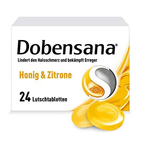 Dobensana Honig- und Zitronengeschmack Lutschtabletten, 24 St. Tabletten