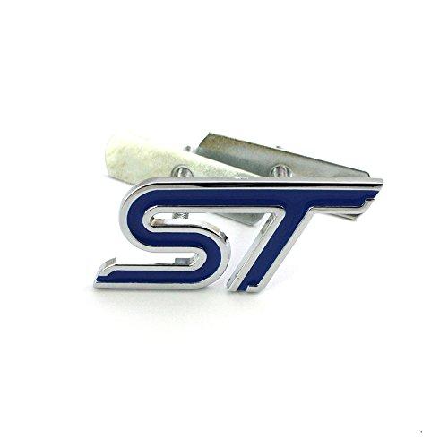 Garage-SixtySix ST - Emblema para parrilla de radiador, color azul