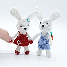 11 Crochet Bunny Patterns -Easter Fun - A More Crafty Life | 230x230