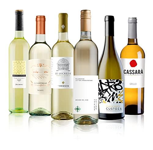 Wein-Probierpaket Weißweinreise durch Italien