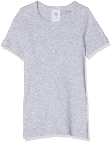 Sanetta Jungen 300100 Unterhemd, Grau (Hellgrau 1646), 128