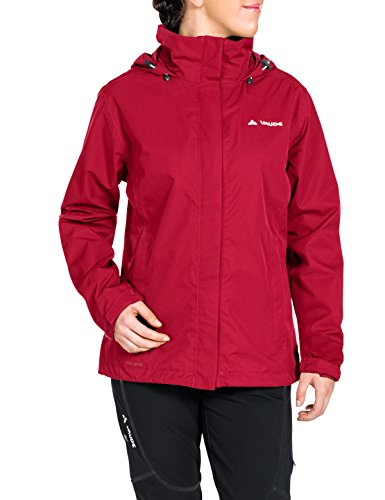 VAUDE Damen Jacke Escape Light Jacket, Indian Red, 38, 038956140380
