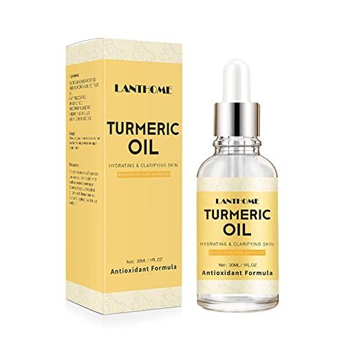 luminiu Crema facial de aceite de cúrcuma para el rostro y el tono de la piel, equilibra las líneas finas y previene las arrugas.