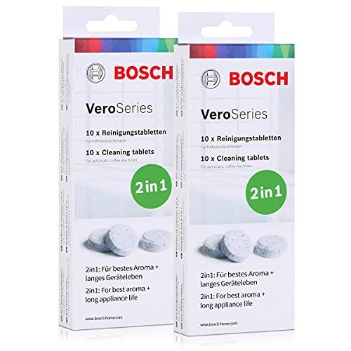 Bosch VeroSeries TCZ8001 Reinigungstabletten 2in1-10 Tabletten (2er Pack)