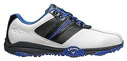 Callaway Men's Chev Comfort Golf Shoes, Black (Black / Black / Gray), 40.5 EU
