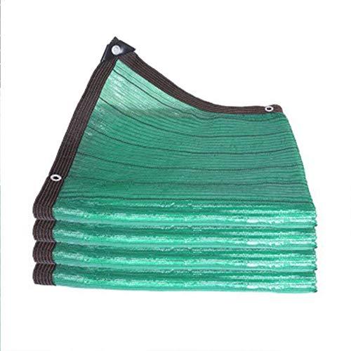 BJH Cubierta de sombreado Cuadrado Verde Bloqueador Solar Sombra de Tela Cifrado Aislamiento térmico Sombrillas Resistentes a los Rayos UV para jardín para Patio/balcón/jardín/Patio