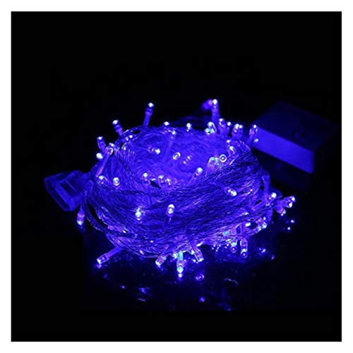 LIFEIYAN Outdoor Fairy String Lights 10M With 100 LED 8 Modes Wave Rope Lights Icicle Curtain Light,Waterproof Festival Lighting For Garden Patio Yard Home Wedding Party And Christmas Decoration festo