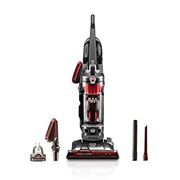 Hoover WindTunnel 3 Max Performance Pet Bagless Upright Vacuum Cleaner HEPA Media Filtration For Carpet and Hard Floor UH72625 Red