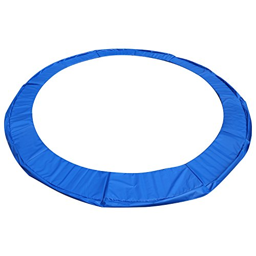 Durable Outdoor Heights Super Round Trampoline Replacement Safety Pad |Spring Cover for Rectangular Trampoline Maui Marble 10 Wide| Fits Most Brands| 8 x 14 Foot Water Resistant