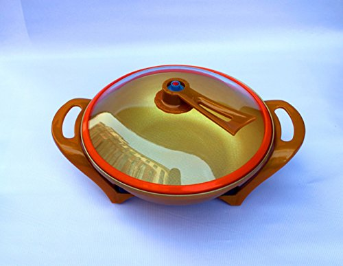 NANXCYR elektrische anti-aanbaklaag heetpot keuken Koreaans multifunctioneel vacuüm gouden barren braadpan hogedruk wok