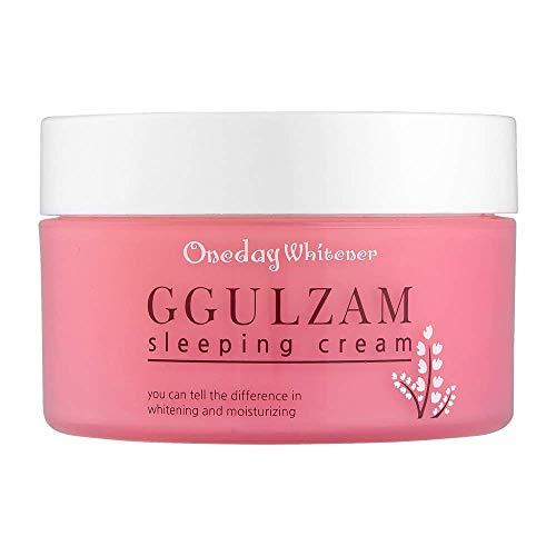 Nella Night Cream, Ggulzam Sleeping Cream, Moisturizing and Anti-Wrinkle, Korean Skin Care, 100 ml