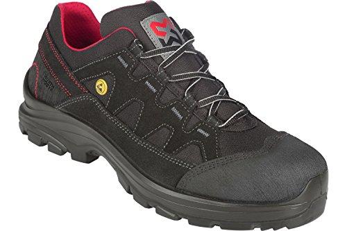 WÜRTH MODYF Sicherheitsschuhe S3 ESD SRC Image Flexitec schwarz rot: Der multifunktionale Schuh ist in Größe 43 erhältlich. Der zertifizierte Arbeitsschuh ist ideal für Lange Arbeitsalltage.