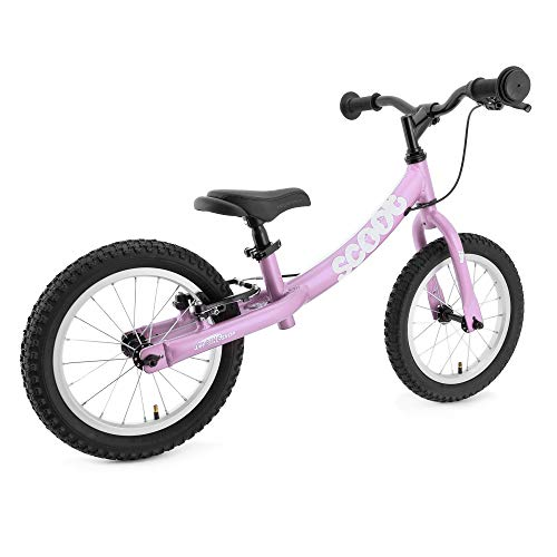 "Ridgeback UK 2018 US Edition Scoot XL 14"" Balance Bike in Pink (Age 4-7)"