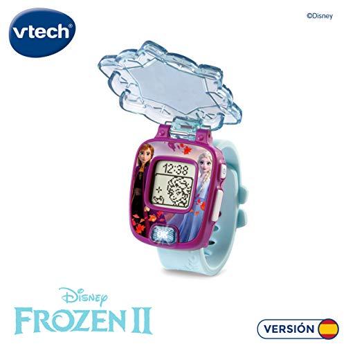 VTech Frozen 2 Reloj Digital (Anna y Elsa), Multicolor, única (3480-518822)