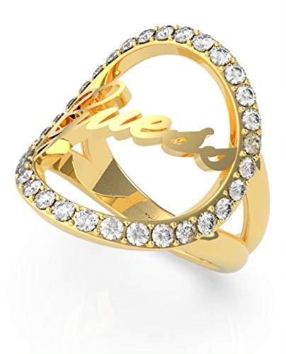 Anello Guess Jewelry All Around You UBR20050 (varie misure) e Acciaio inossidabile, cod. UBR20050-52