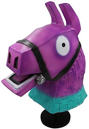 XDHN masker voor volwassenen latex gekleurde paardenkop dierenhoofd sjabloon
