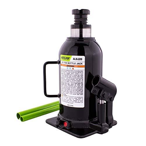 Arcan 20-Ton, Heavy Duty Bottle Jack (ALBJ20)
