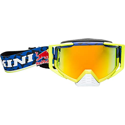 Kini Red Bull Competition 2017 Motocross Brille Blau/Gelb