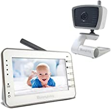 MoonyBaby Trust 30 Baby Monitor, Single Camera with 4.3 Inches Large Screen, Power Saving/Voice Activation, Auto Night Vision, 2-Way Talk-Back and Long Battery Life