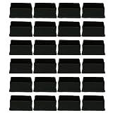 uxcell PVC-Beinkappen, 24 Stück, Möbel-Bodenschutz, reduziert Lärm, verhindert Kratzer für Sofa und Tisch, a18062700ux0036