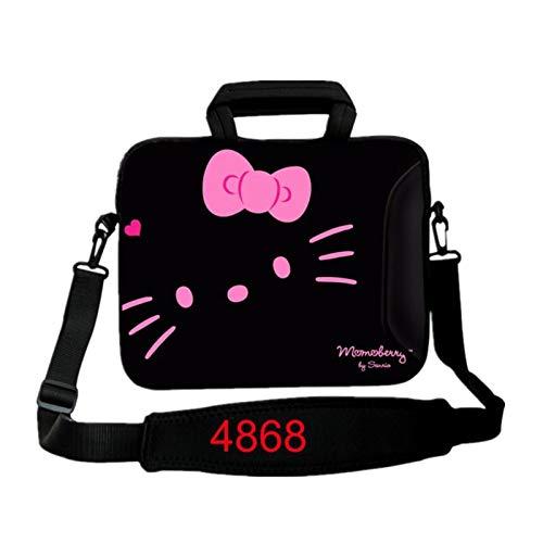 9.7 10.1 11.6 12.1 13.3 14.1 15.4 15.6 17.3 17.4Laptop Shoulder Bag Tablet Sleeve PC Case for Macbook HP Asus Acer HP Lenovo (Color : 4868, Size : 15.6 inch)