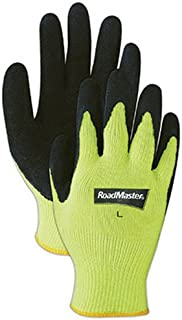 Magid Glove & Safety Mfg 305HVTM MED Yellow Hivis Kni Glove