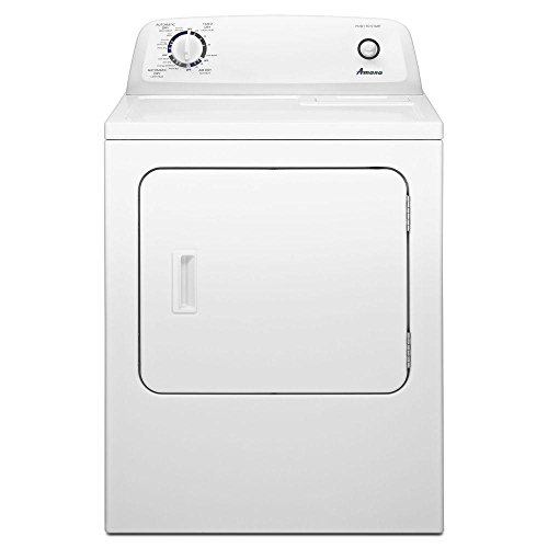 AMANA NED4655EW 6.5 cu. ft. Front Load Electric Dryer with 11 Drying Cycles, White