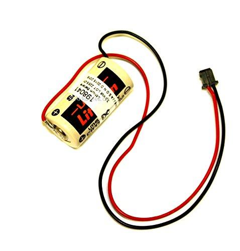 Lithium Batterie passend für Mitsubishi CR17335SE-R / Q6BAT / Q6-BAT 130376, 624-1831, BKO-C10811H03