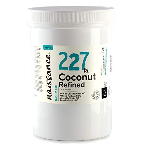 Naissance Kokosöl, raffiniert 500g BIO zertifiziert 100% rein