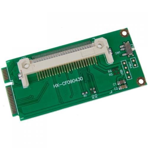 perfk CF Zu Mini PCI Express Linke Adapterkarte Für Asus EeePC 32mm X 66mm