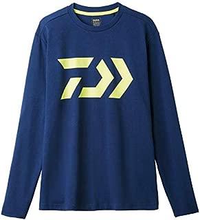 Daiwa Sale DE-8207 T Shirt Long Sleeve Navy Size L 228978
