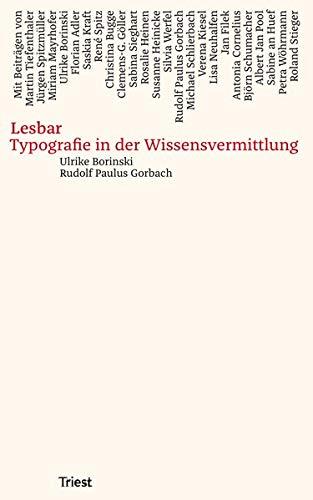 Lesbar: Typografie in der Wissensvermittlung