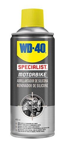 WD-40 Specialist Motorbike -Abrillantador de Silicona- Spray 400ml