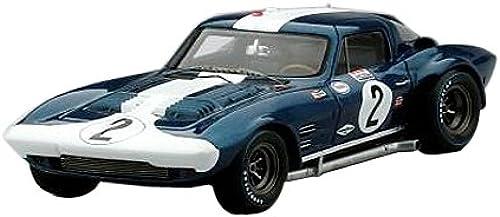 cómodamente Truescale Miniatures tsm144320 Chevrolet Chevrolet Chevrolet Corvette Grandsport Sebring 1964 Escala 1 43 azul blanco  ventas en linea