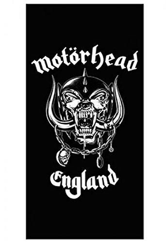 Motörhead - Toalla de baño - Logo de Inglaterra -75 x 150 cm.