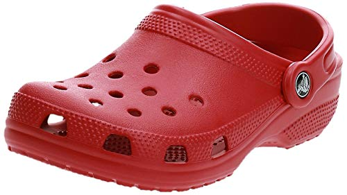 Crocs unisex adult Classic | Water Shoes Comfortable Slip on Shoes Clog, Pepper, 7 Women 5 Men US