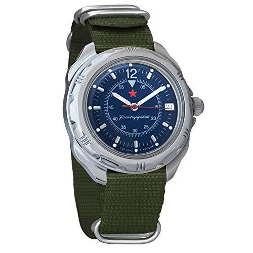 Vostok Amphibian automático Mens Reloj de pulsera Self-winding Militar buceo anfibios Ministerio caso reloj de pulsera # 710278