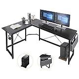 AuAg L-förmiger Schreibtisch,167cm L-Form Computertisch mit...