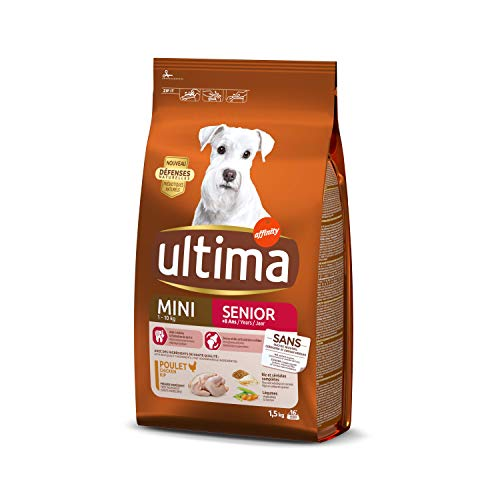 Ultima Pienso para Perros Mini Senior - 1.5 kg