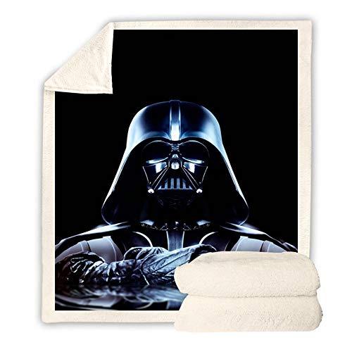 DDDWWW Star Wars Manta Fleece 3D Impresión Sofá